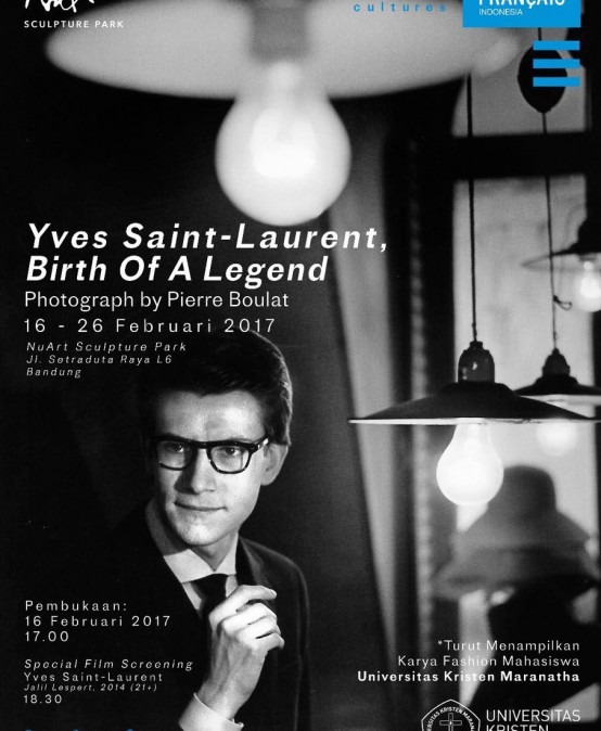 "Pameran: Yves Saint Laurent, ""Birth of A Legend"""